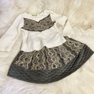 Little Mass skirt set size 3t